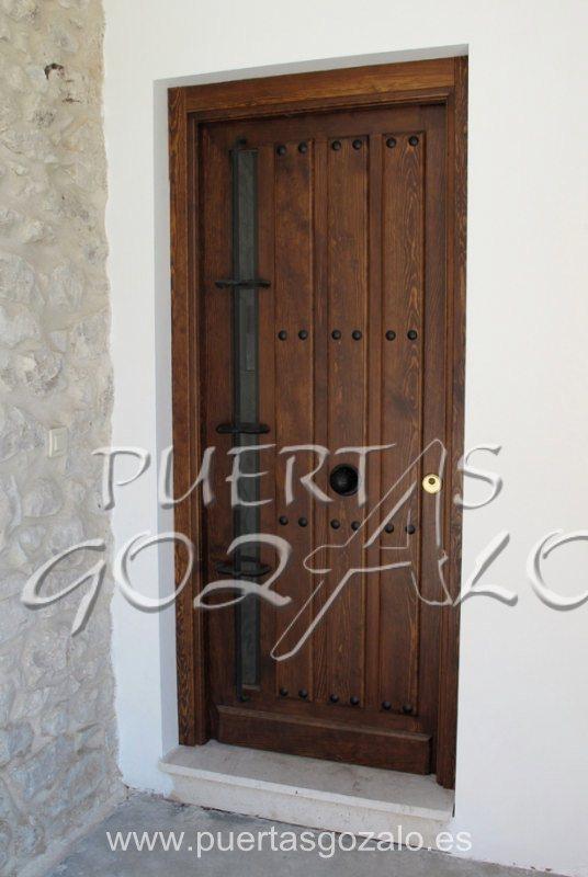 Puertas de entrada de piso puertas gozalo for Puertas para pisos