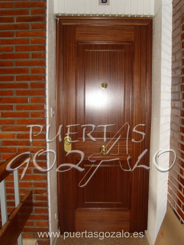 Puertas de entrada de piso puertas gozalo - Puerta exterior blindada ...