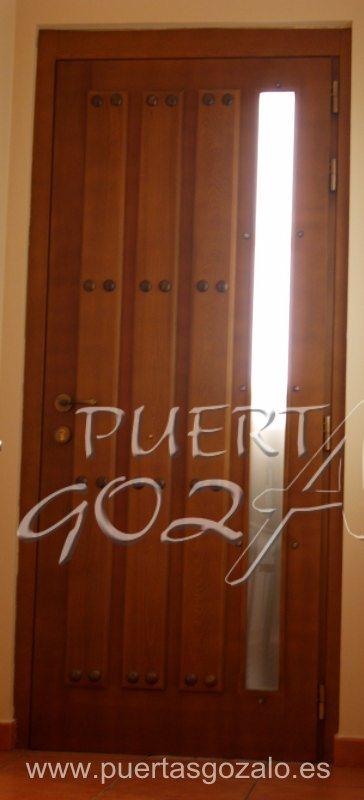 Puertas de entrada de piso puertas gozalo for Puertas pisos precios