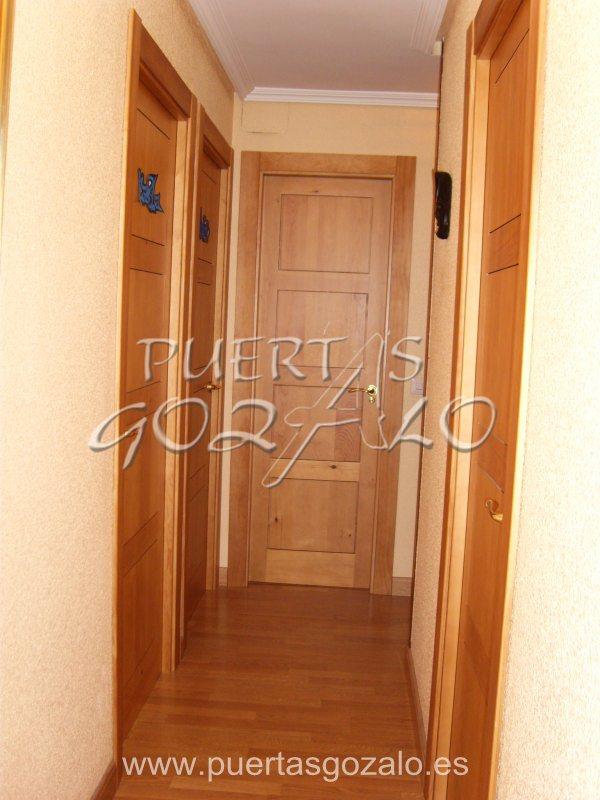 Puertas de interior madera maciza puertas gozalo Precio puertas de paso