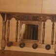 Percha de pared, en madera acabado rústico. Precio: 75,00€ ( transporte no incluido)