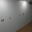 Frente de puertas plegables. Division 2 estancias