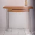 Mesa de cocina modelo Combi libro, apertura giratoria. Tapa de mesa en acabado laminado Blanco, Cerezo y Haya. PRECIO PROMOCIÓN Y HASTA AGOTAR EXISTENCIAS: 170€ ( transporte no incluido)