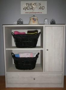 PRECIO LIQUIDACIÓN: 190,00€( mueble + cestsillos, artículos de decoración no incluidos)