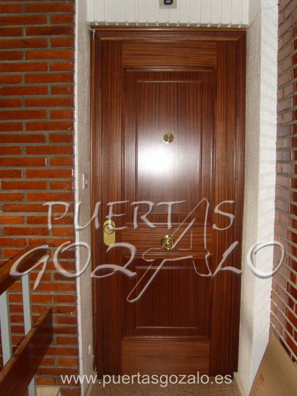Precio puerta blindada exterior cheap cerradura elctrica Puertas de exterior precios