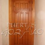 Puerta plafonada