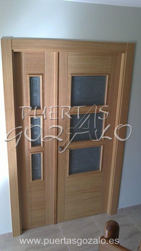 Puertas de paso puertas gozalo for Puertas de paso modernas