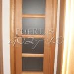 Puerta en cerezo 4 vidrios_001