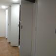 frente de puertas plegables, division 2 estancias