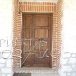 Puerta engargolada