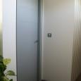 puerta lacada gris