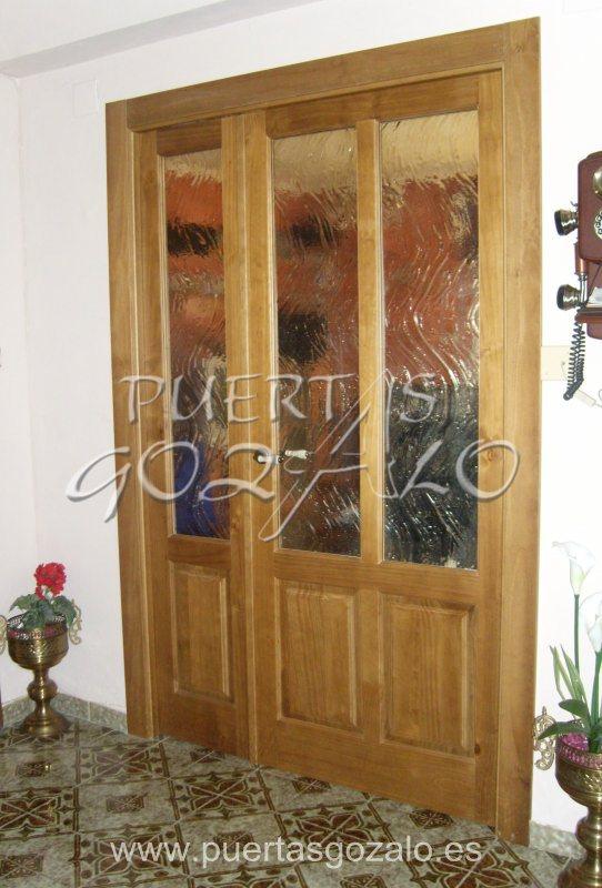 Puertas de paso puertas gozalo - Puertas macizas interior ...