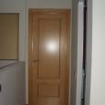 puerta roble 2 cuadros